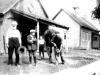 Boutique du forgeron et petite école à proximité de la maison de Gabrielle Leduc