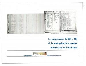 Recensements 1831 et 1851