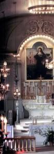 Intérieur église Ste-Jeanne-de-Chantal