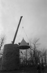 Moulin en retauration 1977